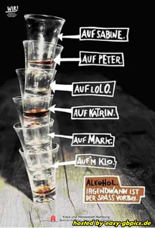 Alkohol & Party Whatapp Bilder