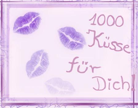 Bilder kuss für dich