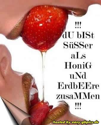 Du Bist Süsser Als Honig GB Bild