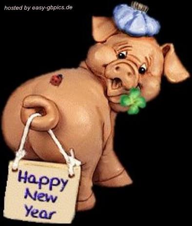 Neujahr GB Pics, GB Bilder, Jappy & Facebook Bilder