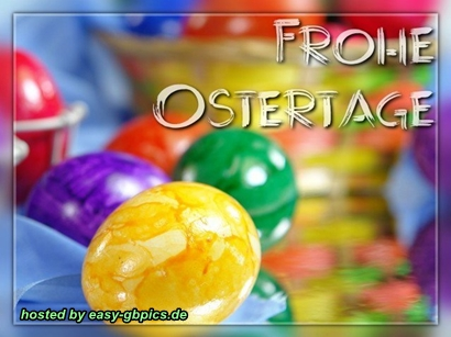 Frohe Ostertage GB